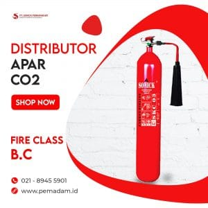Supplier dan Distributor Alat Pemadam Api Jual Apar Co2